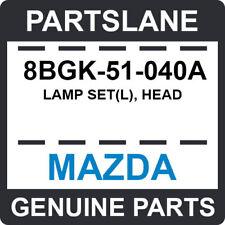 8BGK-51-040A Mazda OEM Genuine LAMP SET(L), HEAD