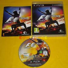 F1 2010 Ps3 Versione Inglese gioco in Italiano Formula F 1 »»»»» COMPLETO