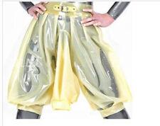 Latex Gummi Boxer Shorts Sexy Hose Buckle Cosplay Kostüm Unterhose 0.4mm S-XXL