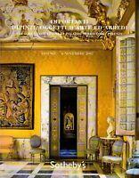 SOTHEBY'S. FIRENZE. DIPINTI, OGGETTI D'ARTE. Catalogo asta 6 novembre 2007.