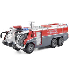 KDW 1/50 Scale Diecast Airfield Water Cannon Fire Truck Cars Model Toy Red