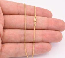 "10"" 1mm Popcorn Coreana Link Chain Bracelet Anklet Ankle Real 10K Yellow Gold"