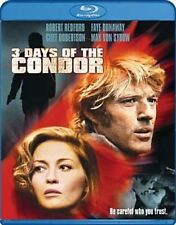 3 Days of The Condor 0883929301331 With Robert Redford Blu-ray Region a