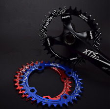 FMF BCD 96mm MTB bike round oval chainring chain ring 32/34/36/38T