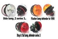 Landrover Defender, Stop & Tail, Flasher Side lamps. 1995.. *Top Quality!