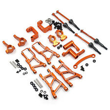 Yeah Racing Hpi RS4 Sport 3 Orange Aluminium Châssis Kit de Mise à Niveau
