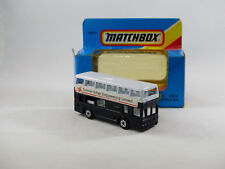 Matchbox Superfast MB17 London Bus Torvale Fisher Engineering  Neuf/boîte (#T6E)