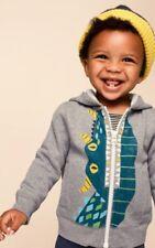 New Tea Collection Baby Boy Dragon Dinosaur Monster Hoodie Jacket 18-24 $54