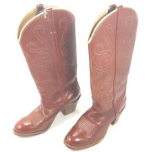 DINGO 1970's Women's Brown Leather Boots Size 6M