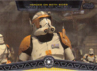 STAR WARS GALACTIC FILES 2012 TOPPS HEROES ON BOTH SIDES CARD #HB-6