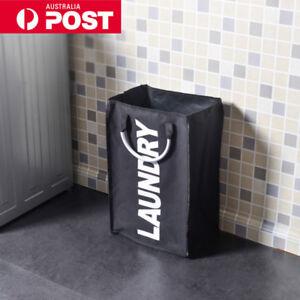 Collapsible Oxford Washing Clothes Laundry Basket Bag Hamper Bin Storage Bag