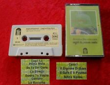 MC Angelo Branduardi - Cogli La Prima Mela - Musikkassette Cassette
