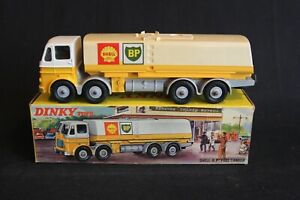 Dinky toys Shell-B.P. Fuel Tanker #944 in original box (J&KvW)