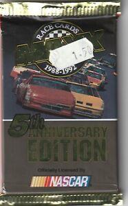 1992 Maxx Racing Cards Pack - NASCAR - 5th Anniversary Edition - Jeff Gordon