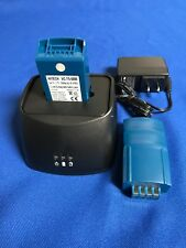 10 batteries(Japan Li 5A) + New Single rapid Charger For VOCOLLECT T5 #730022...