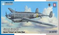 SPECIAL HOBBY 48170 German Transport & Trainer Plane Siebel Si240D in 1:48