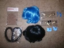 Pullip Doll Wig Accessories Lot Sailor Moon Mercury Catwoman Mir Eye Chips in US