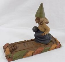 """* 7 """" Tom Clark Bowling Gnome Figure """"Allie"""" / Edition # 1 / 1990 / S 00004000 Igned"""