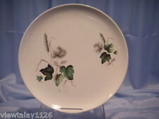 "RETRO 1950'S PALISSY SHADOW ROSE 10"" DINNER PLATE"