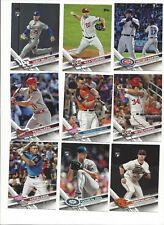 2017 TOPPS UPDATE - STARS, ROOKIE RC'S - WHO DO YOU NEED!!!