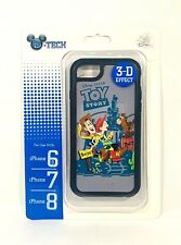 Disney Parks Toy Story Woody Jessie Bullet 3D Apple iPhone 6S/7/8 Phone Case New