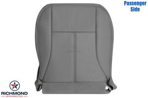 2004 2005 2006 GMC Canyon SLT Z71 -Passenger Side Bottom Leather Seat Cover Gray