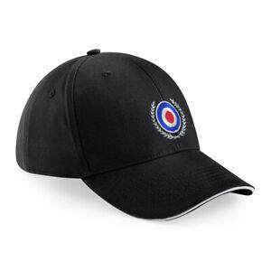 Mod Target Embroidered Baseball Cap Hat.