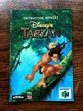 Tarzan N64 Nintendo 64 Instruction Manual Only