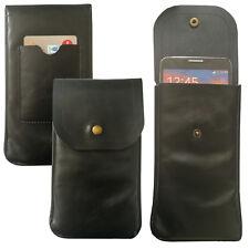 XL Soft Slim Cover Case Schutz Hülle Etui Pull Tasche für Maze Alpha X Schwarz