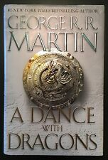 A Dance with Dragons, Bk 5: A Song of Ice & Fire - George R.R. Martin (1st, 1st)