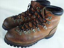 Vintage Red Wing Irish Setter Mountaineering Hiking Boots mens Size 11 B USA