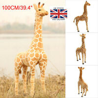 100CM Animals Soft Plush Toy Giraffe Giant Stuffed Doll Child Gift Home Decor