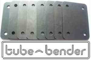 8 (75x100x3mm) Roll Cage Footplates Strengthening, Mounting, Fabrication Steel