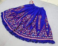 Ethnic Banjara Tribal Boho Gypsy Embroidery Rabari India Kuchi Belly Dance Skirt