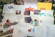 Vintage NYC graffiti street art sketch book collection photo DISNEY MICKEY MOUSE