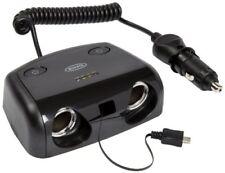 Ring Rms14 12V coche doble 2 varios enchufe micro USB cargador adaptador de