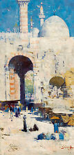 Arthur Streeton - Cairo Street Mosque, Sultan Hassan, Egypt, Art Print or Canvas