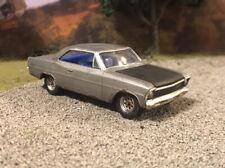 1967 Chevy Nova Weathered Rusty Custom 1/64 Diecast Barn Find Rust Junkyard Car