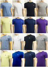 Lacoste Crew Neck Short Sleeve Casual Shirts & Tops for Men
