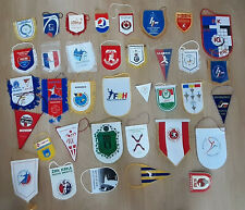 HANDBALL Pennant 35 different Handbal National team ,handball club Lot 1