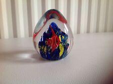 Rare Limited Edition. 30 ans œuf en forme de PRESSE-PAPIER. Collectors objet.