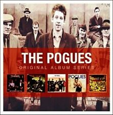 The Pogues ORIGINAL ALBUM SERIES Box Set RUM SODOMY & LASH Peace & Love NEW 5 CD