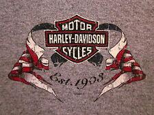 HARLEY-DAVIDSON motorcycles T shirt juniors small longsleeves Tecumseh Michigan