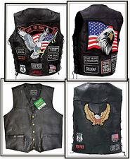 Gilet jacket blouson sans manches - plus de 10 modéles - grandes tailles / Biker