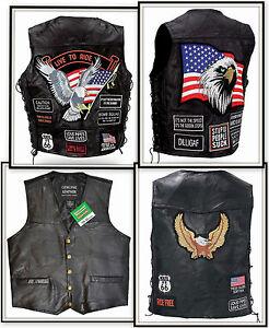 Gilet jacket blouson sans manches + de 10 modéles - grandes tailles / Biker