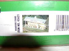 Bachmann 45621 Plasticville USA Roadside Stand Kit O 027 MIB New Farmer's Market
