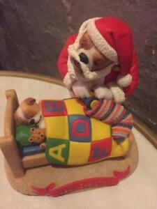 ROBERT HARROP  DOGGIE PEOPLE..' DADDY  CHRISTMAS'  SANTA BULLDOG..  LE. MIB..