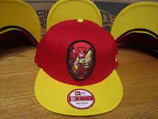 The Avengers Iron Man Sub Action Marvel Comics New Era Hat Snapback SM-MED 0288