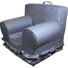 Insert For Anywhere Chair With New Grey Ruffle Cover Regular