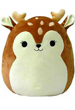 "Squishmallows 16"" Dawn The Fawn Brown Deer Soft Squish Stuffed Animal Plush NEW"